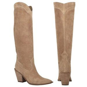 NEW! Sigerson Morrison Ferry Square Toe Tall Boot
